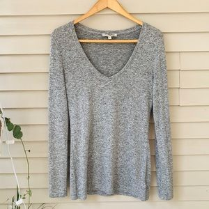 Soft and cozy gray sweater